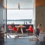 chaise vitra eames plastic -