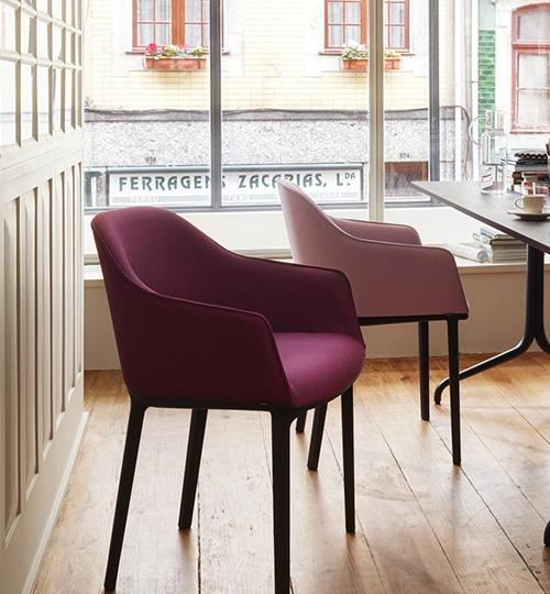 vitra chaise softshell de ronan et erwan bouroullec