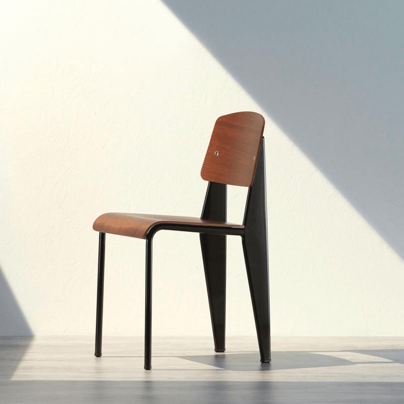chaise Standard de Jean Prouvé par Vitra