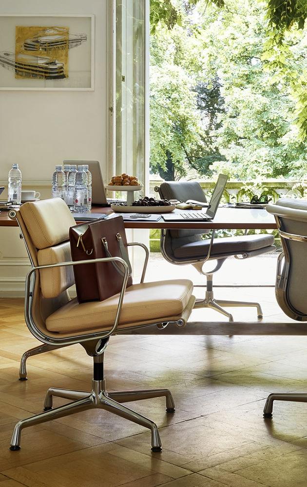 mobilier de bureau eames soft pad de vitra
