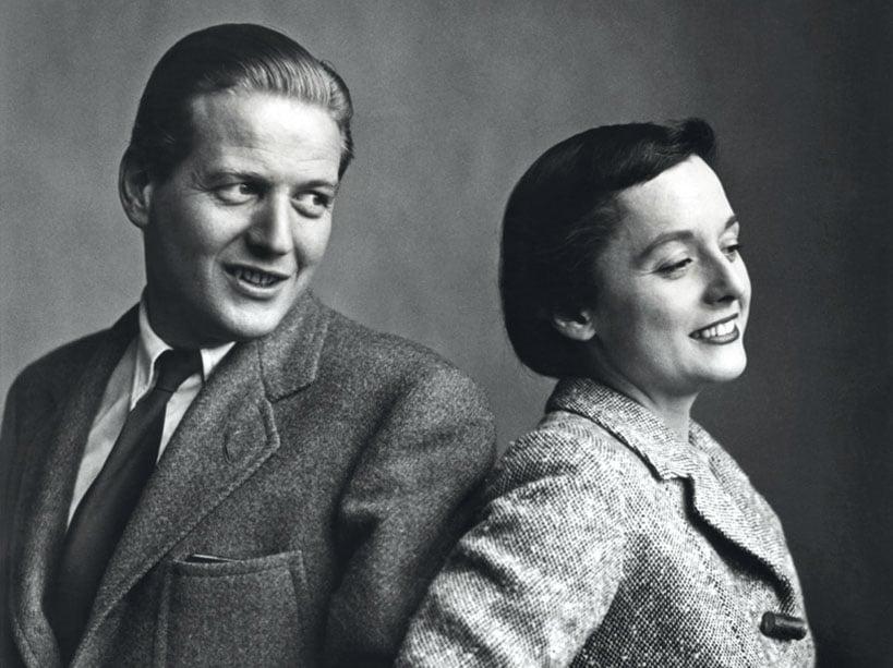 Portrait de Hans et Florence Knoll