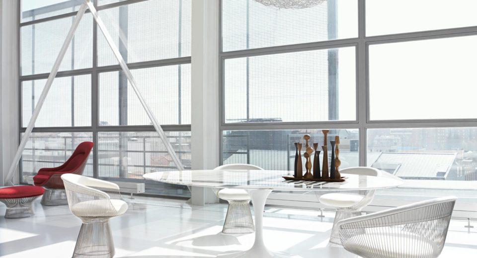 Mise en situation du mobilier Knoll dans un espace intérieur