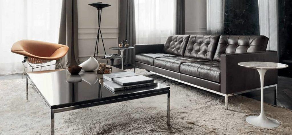 Visuel d'un salon avec du mobilier Knoll